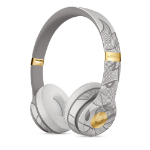 Apple Beats Solo3 - New Year Special Edition - Blade Gray Headset Head-band Gold, Grey