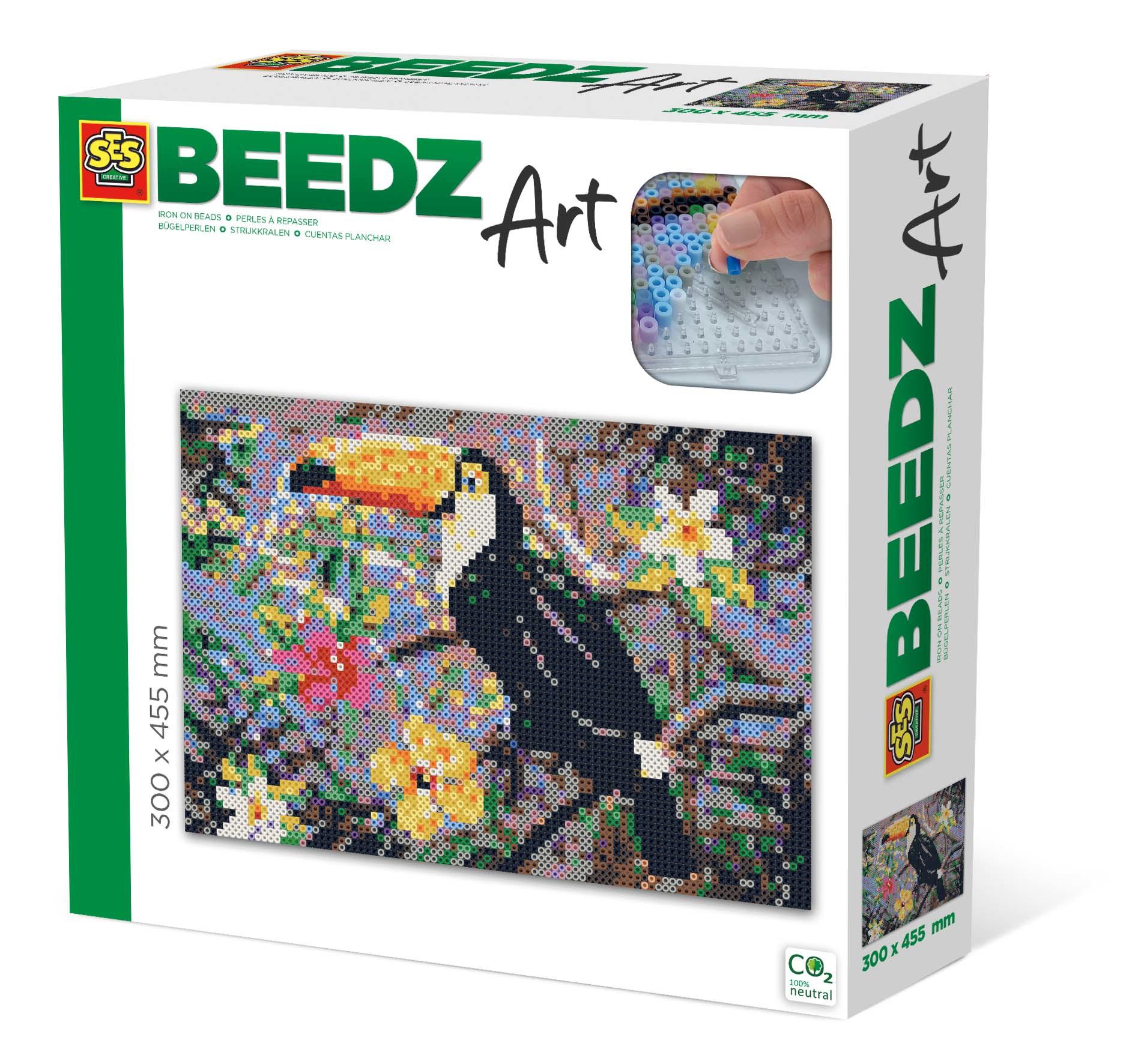 SES Creative Beedz art - Toucan