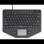 iKey SL-80-TP mobile device keyboard Black USB