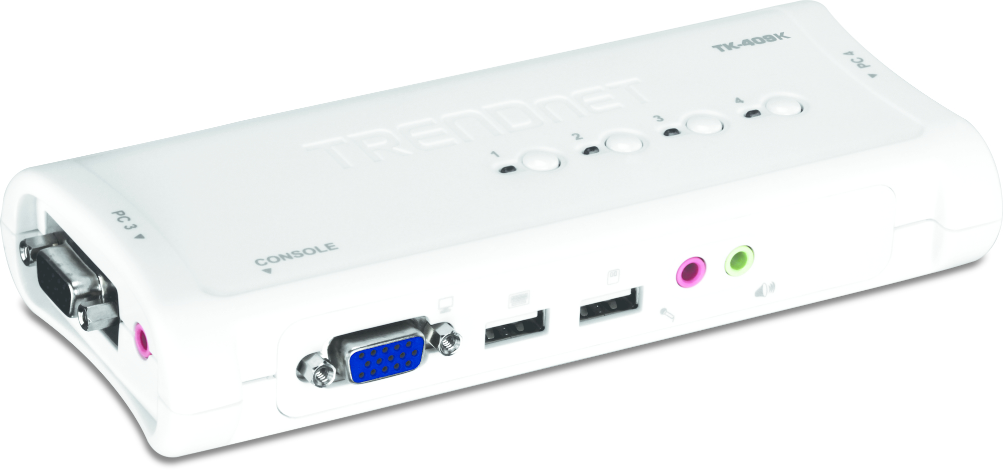 Trendnet TK-409K KVM switch Blue