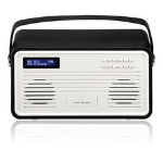 ViewQwest Retro radio Portable Analog & Digital Black