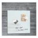 Sigel GL111 magnetic board Glass White