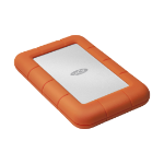 LaCie Rugged Mini external hard drive 4000 GB Orange