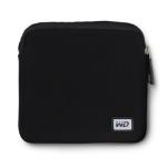 Western Digital WDBDRF0000NBK-WASN storage drive case Sleeve case Neoprene Black