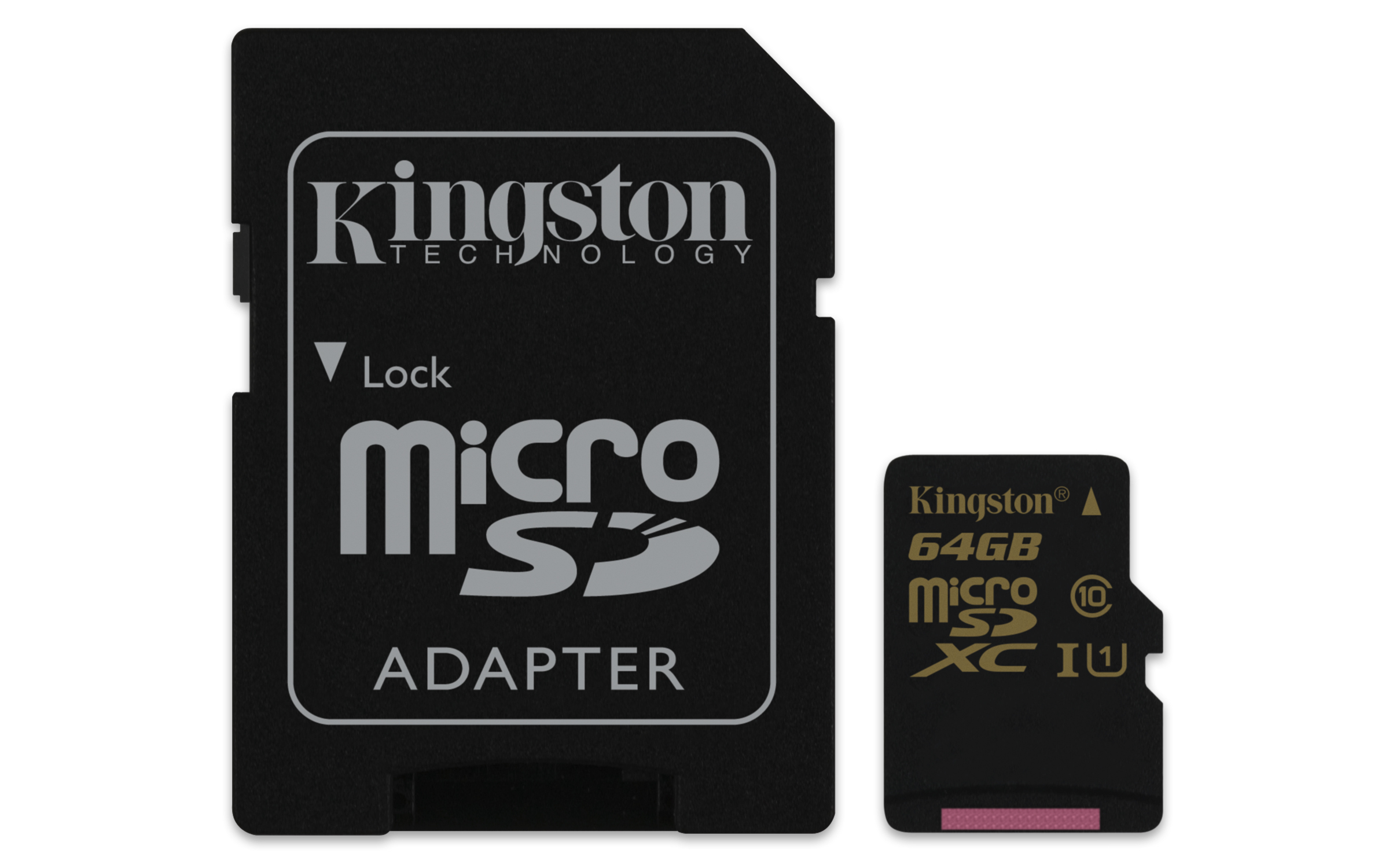 Kingston Technology microSDHC/SDXC Class 10 UHS-I 64GB 64GB MicroSDXC UHS Class 10 memory card