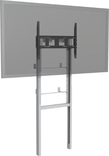 "Vision VFM-F8X4 110"" Portable flat panel floor stand Grey, White flat panel floorstand"