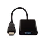 V7 Black Video Adapter HDMI Male to VGA Female
