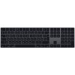 Apple Magic keyboard Bluetooth QWERTY Danish Grey