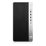 HP ProDesk 600 G3 3.4GHz i5-7500 Micro Tower Black, Silver PC