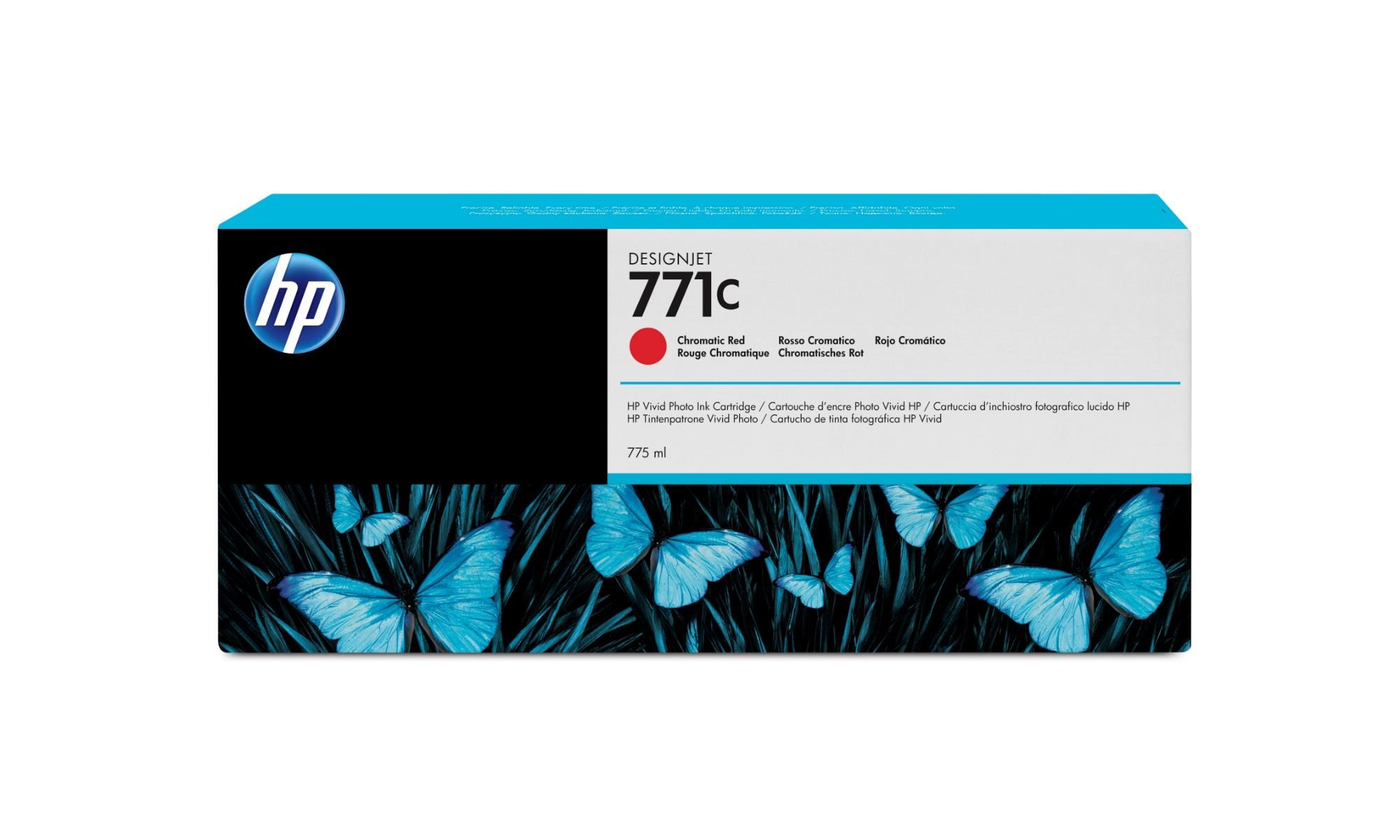 HP 771C Origineel Rood