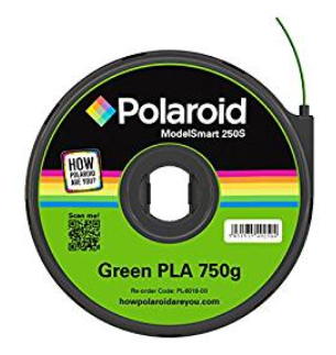 Polaroid PL-6018-00 3D printing material Polylactic acid (PLA) Green 750 g