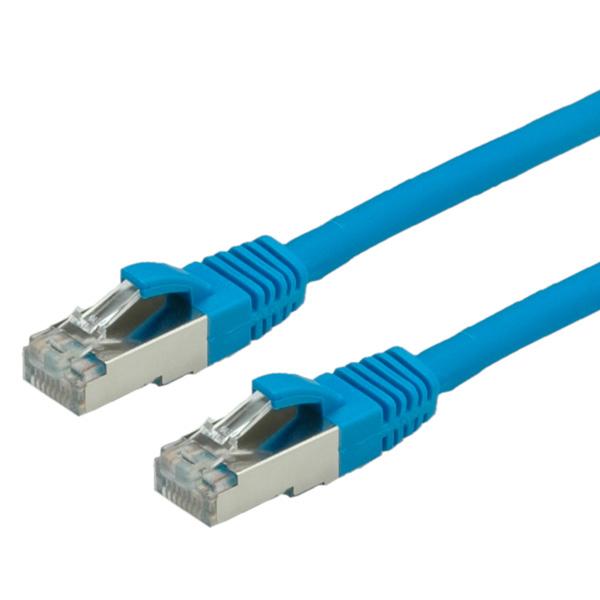 S/FTP PatchCord Cat6. LSOH. CU. Blue. 1.0m