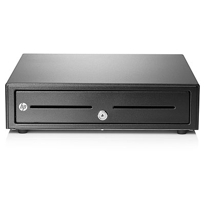 HP Standard Duty Cash Drawer Black cash/ticket box