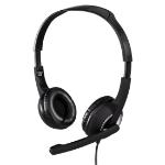 Hama Essential HS 300 2x 3.5 mm Binaural Head-band Grey headset