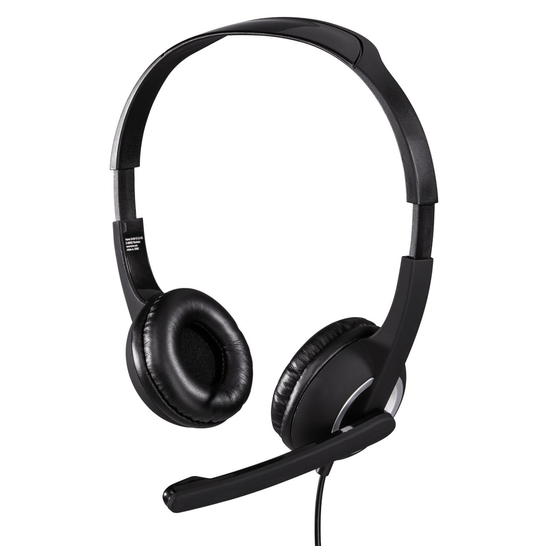 Hama Essential HS 300 Binaural Head-band Grey headset