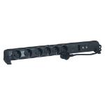 C2G 80800 6AC outlet(s) 1.5m Black surge protector