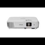 Epson EB-W05 data projector 3300 ANSI lumens 3LCD WXGA (1280x800) Desktop projector White