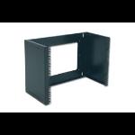 """Digitus 19"""" 4U wall mounting patch-bracket Black"""