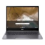 "Acer Chromebook CP713-2W 34.3 cm (13.5"") 2256 x 1504 pixels Touchscreen 10th gen Intel® Core™ i5 8 GB DDR4-SDRAM 256 GB SSD Wi-Fi 6 (802.11ax) Chrome OS Grey"