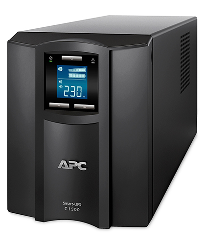 APC Smart-UPS Line-Interactive 1500VA 8AC outlet(s) Black uninterruptible power supply (UPS)