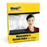 Wasp WaspLabeler & Barcode Maker (1U) bar coding software