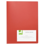 Q-CONNECT KF01258 folder A4 Red