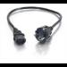 C2G 0.5m Universal Power Cord