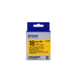 Epson Strong Adhesive Tape - LK-5YBW Strng adh Blk/Yell 18/9