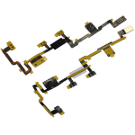 CoreParts TABX-IP2-WF-INT-8N mobile phone spare part Volume button flex cable Black,Yellow