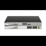 D-Link DXS-1100-16SC network switch Managed 10G Ethernet (100/1000/10000) Black