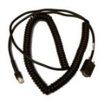 Zebra CBA-R62-C20PAR serial cable Black 6 m DB9