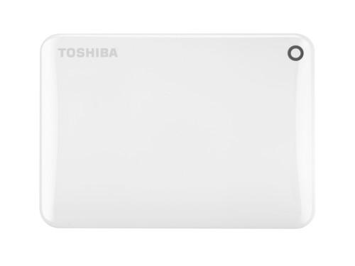 Toshiba Canvio Connect II 1TB external hard drive 1000 GB White