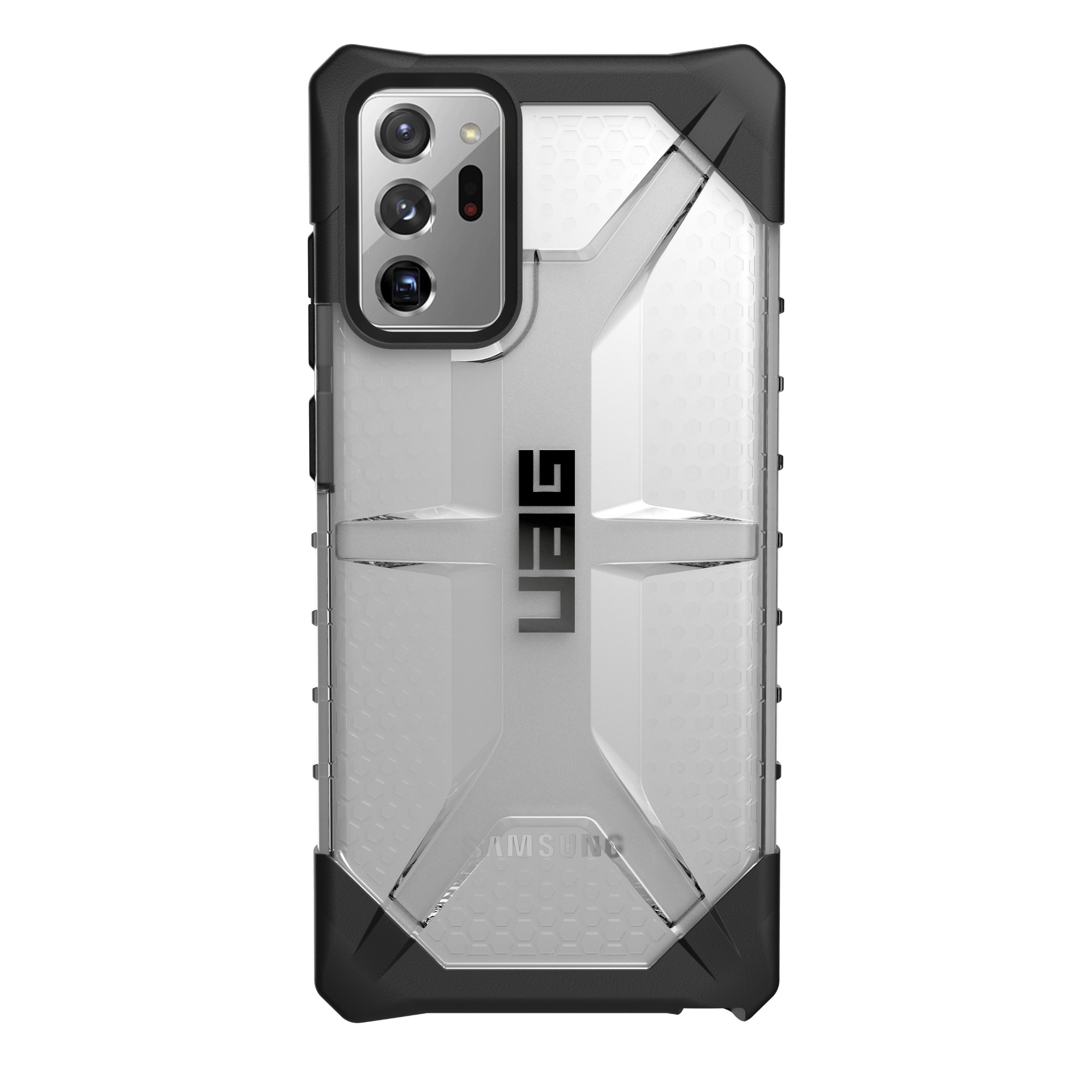 "Urban Armor Gear Plasma funda para teléfono móvil 17,5 cm (6.9"") Negro, Translúcido"