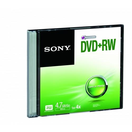 Sony DVD+RW SINGLESLIMCASE