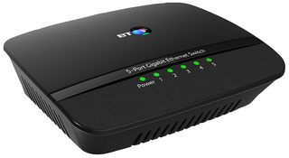 BT 5 PORT GIGABIT ETHERNET SWITCH