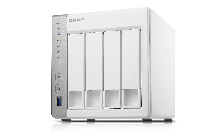 QNAP TS-431 Storage server Tower Ethernet LAN White storage server