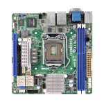 ASROCK_RACK Asrock Rack E3C226D2I Server Board, Intel C226, 1150, Mini ITX, Dual GB LAN, IPMI