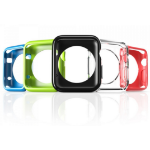 i-Blason APPLEWATCH-38-CS-5C Case Black,Blue,Green,Pink,Transparent