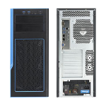 Supermicro SuperWorkstation SYS-5038K-i Full-Tower Black Intel® C612 LGA 3647 (Socket P)