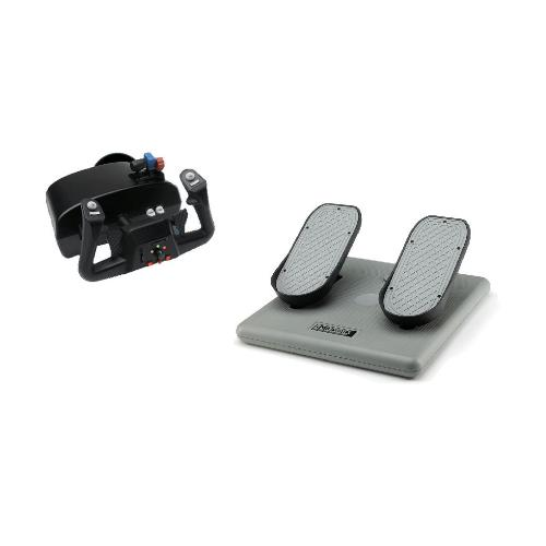 CH Products Racer Pack For PC & Mac (Inc USB Eclipse Yoke & Pro Pedals)