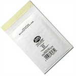 Jiffy Riggikraft Airkraft Postal Bags Bubble-lined Peel and Seal No.000 White 90x145mm Ref JL-000 [Pack 150]