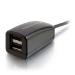 C2G Concentrador USB 2.0 de 2 puertos