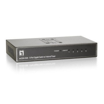 Gsw-0509 5-port Gigabit Switch (internal Power)