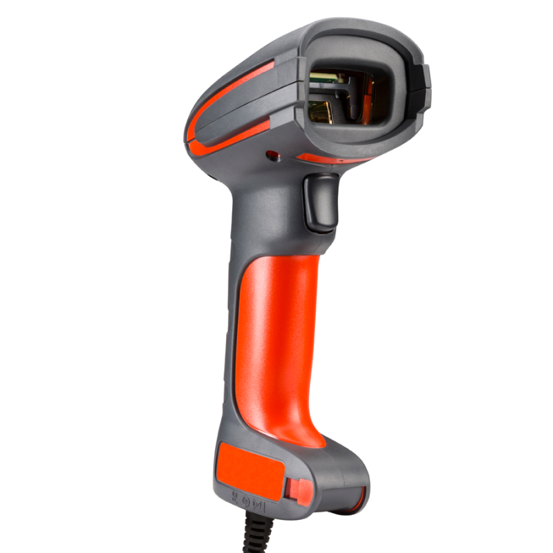 Honeywell Granit 1280i Lector de códigos de barras portátil Laser Negro, Naranja