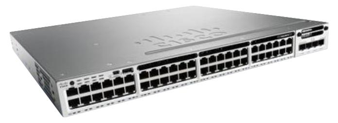 Cisco Catalyst WS-C3850-48U-L Managed L3 Gigabit Ethernet (10/100/1000) Power over Ethernet (PoE) 1U Grey network switch