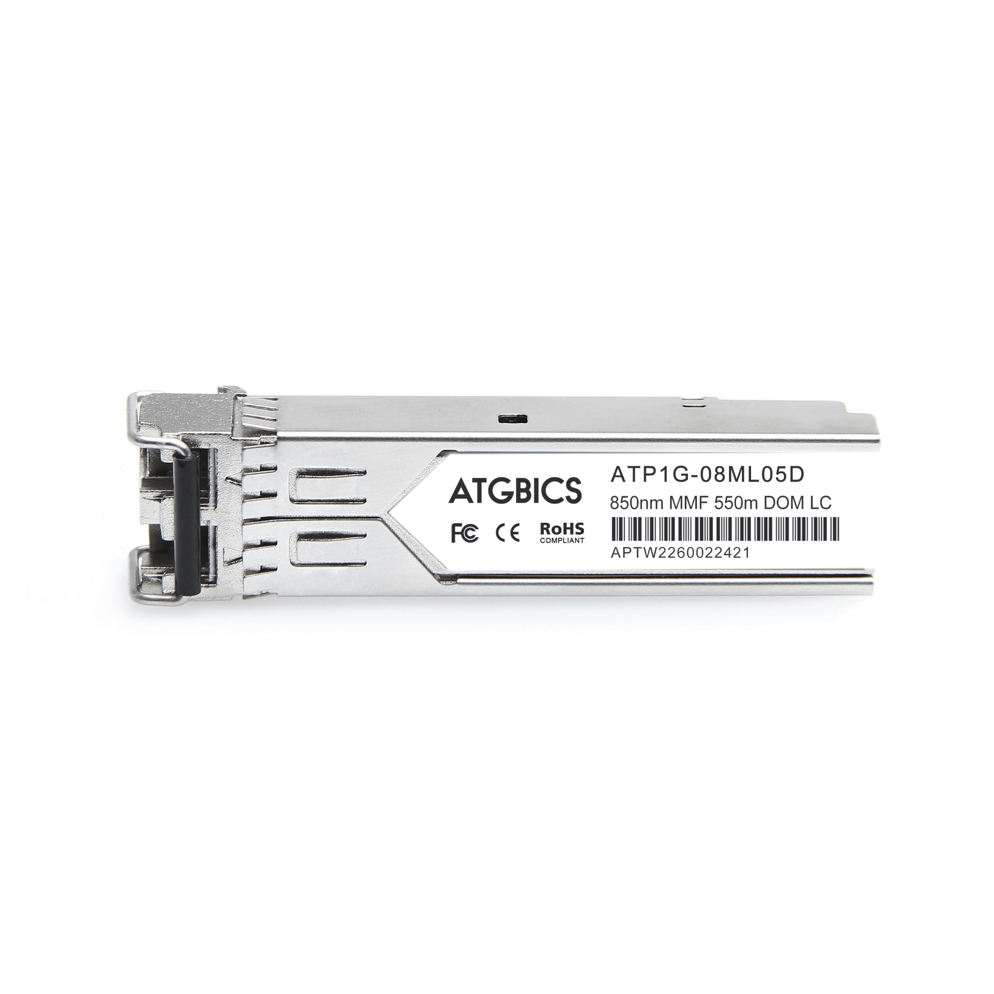 Image of ATGBICS J4858D-C network transceiver module Fiber optic 1000 Mbit/s SFP 850 nm