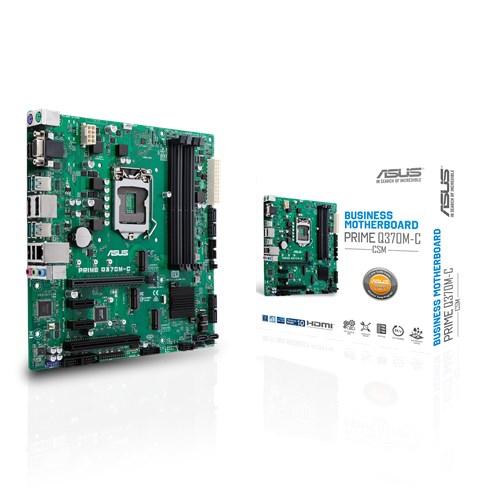 PRIME Q370M-C/CSM S1151 Q370 MATX SND+GLN+U3.1+M2 6GB/S DDR4  IN