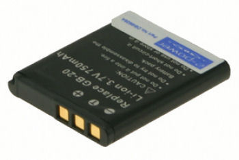 2-Power DBI9928A Lithium-Ion (Li-Ion) 750mAh 3.7V rechargeable battery