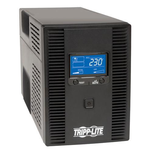 Tripp Lite SmartPro LCD 230V 1.5kVA 900W Line-Interactive UPS, Tower, LCD display, USB, DB9 Serial
