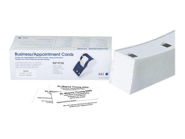 Seiko Instruments SLP-FCS2 tarjeta de visita
